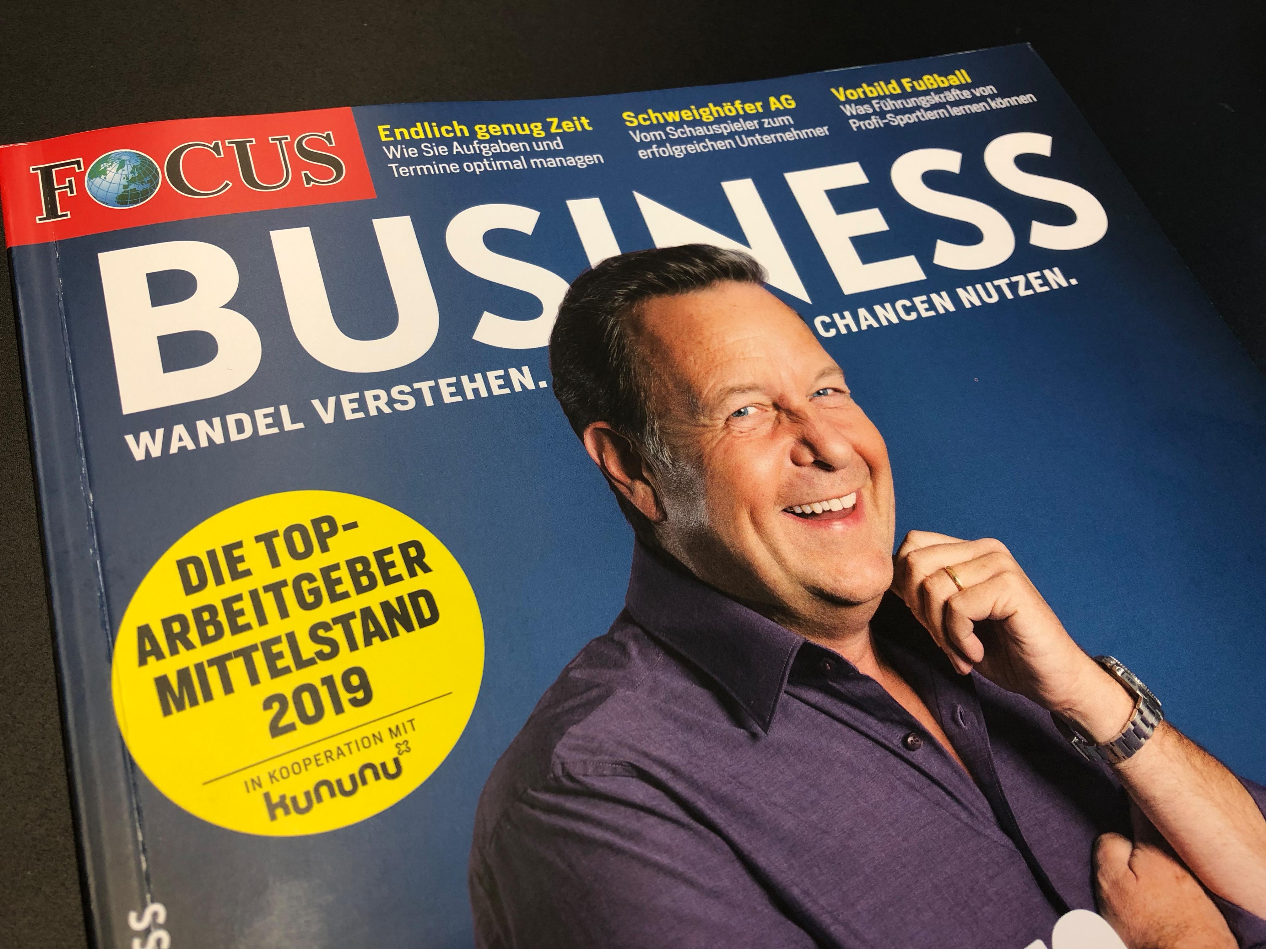 Die aktuelle FOCUS Business Ausgabe