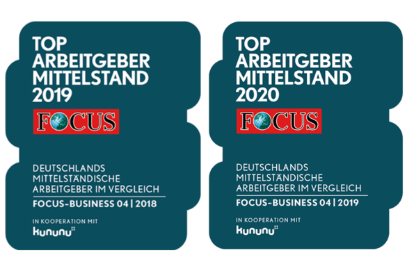 Focus Business Siegel 2019 and 2020