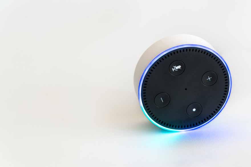 Amazon Sprachsteuerung Echo Dot.