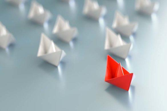 Leadership Change – das Fuehrungsboot gibt die Richtung an