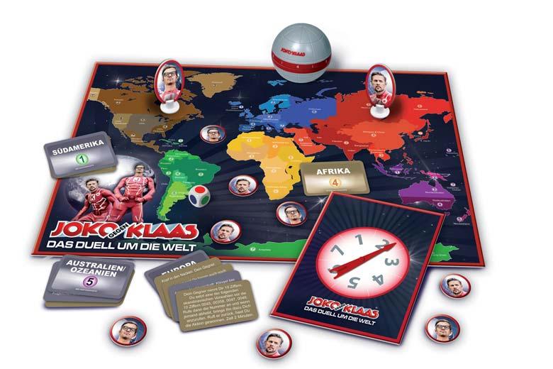 Logo Gesellschaftsspiel Joko gegen Klaas – Das Duell um die Welt