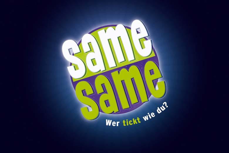 Logo Gesellschaftsspiel Same Same