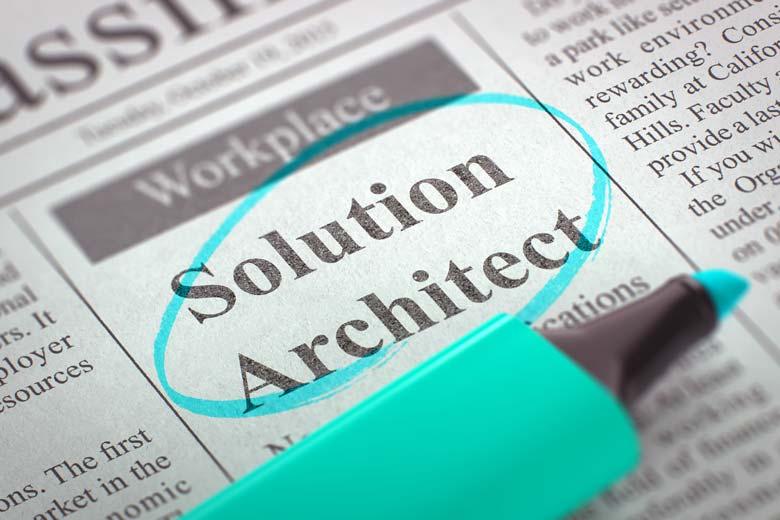 Stellenausschreibung für einen Solution Architect
