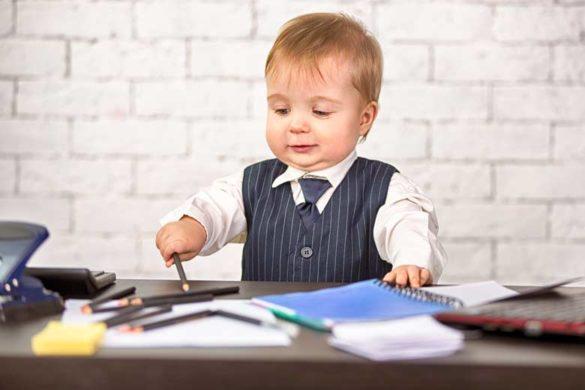 Bewerbung ohne Berufserfahrung als Baby schon auf dem Karrierepfad