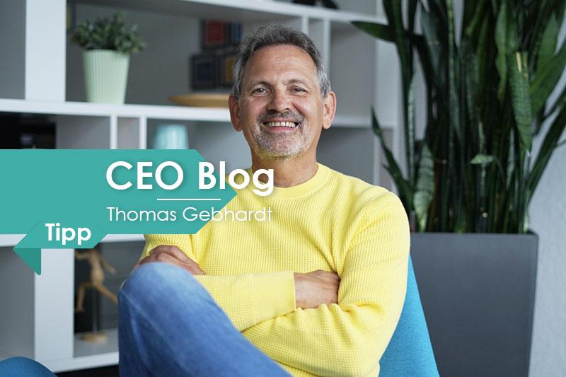 CEO Blog Thomas Gebhardt