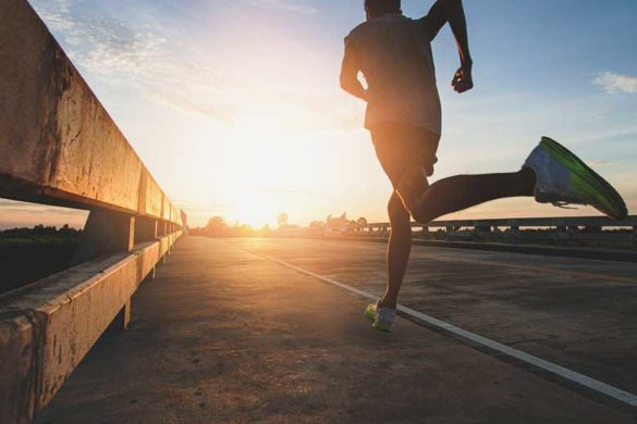 Läufer bei der MoveNow Challenge