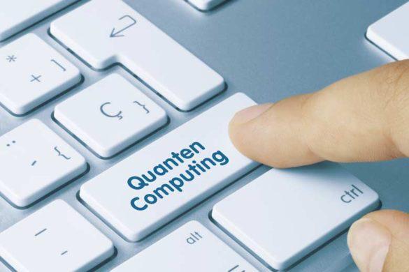 Quantencomputer Tastatur