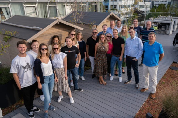 Spectrum zieht um Teamfoto 2021